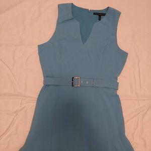 Flirty blue dress